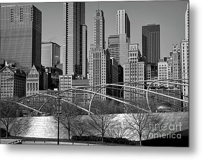 Millennium Park V Visit Www.angeliniphoto.com For More Metal Print by Mary Angelini