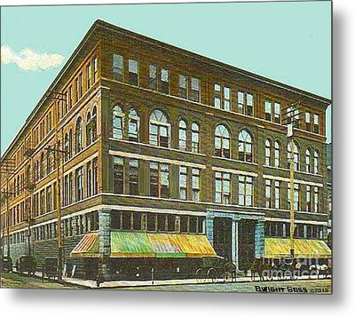 Miller Bros. Department Store In Chattanooga Tn In 1910 Metal Print by Dwight Goss
