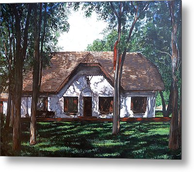 Miller Homestead Metal Print by Tom Roderick