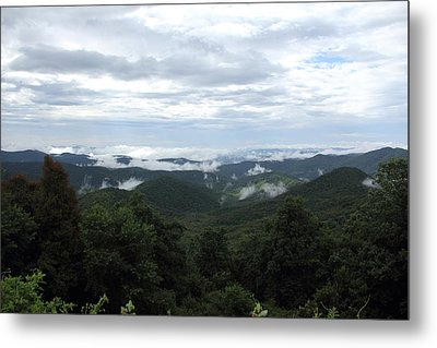 Mills River Valley View Metal Print