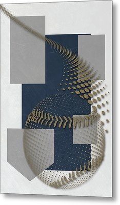 Milwaukee Brewers Art Metal Print by Joe Hamilton