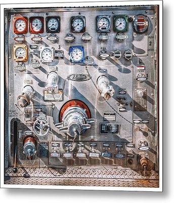 Milwaukee Fire Department Engine 27 Metal Print by Scott Norris
