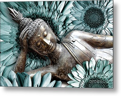 Mind Bloom Metal Print by Christopher Beikmann