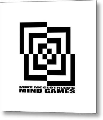 Mind Games 10se Metal Print