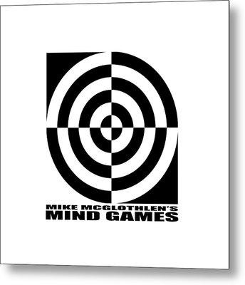 Mind Games 1se Metal Print