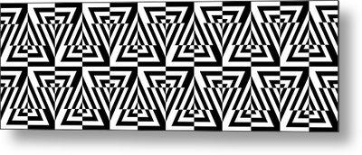 Mind Games 24 Panoramic Metal Print by Mike McGlothlen