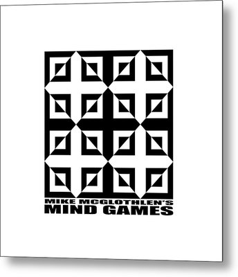 Mind Games 37se Metal Print