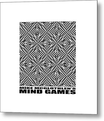 Mind Games 61se 2 Metal Print