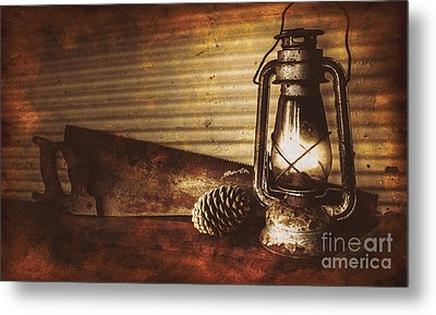 Miners Cottage Details Metal Print by Jorgo Photography - Wall Art Gallery