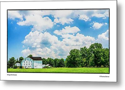 Mingoville Clouds Metal Print by R Thomas Berner