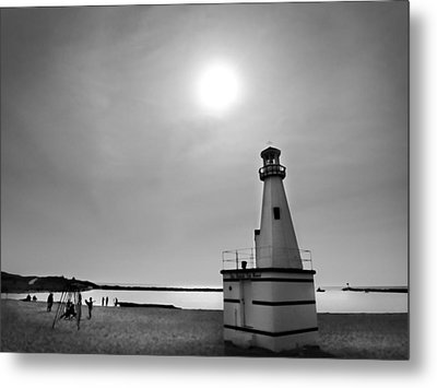 Miniature Lighthouse Metal Print