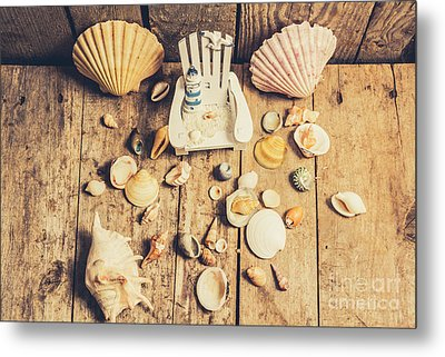 Miniature Sea Escape Metal Print by Jorgo Photography - Wall Art Gallery