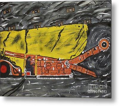 Coal Mining  Metal Print by Jeffrey Koss