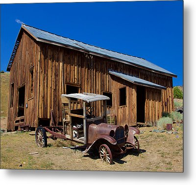 Metal Print featuring the photograph Mining Relic by Todd Kreuter
