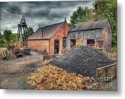 Metal Print featuring the photograph Mining Village by Adrian Evans