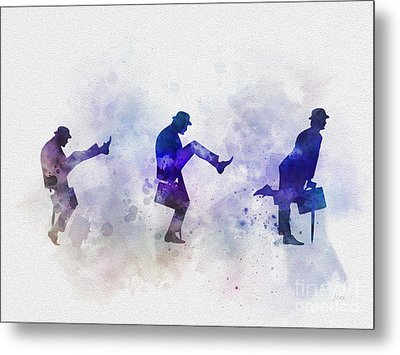 Ministry Of Silly Walks Metal Print