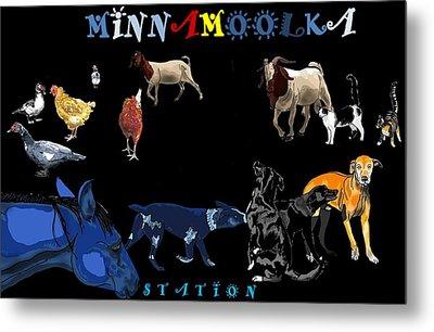 Minnamoolka Station Metal Print