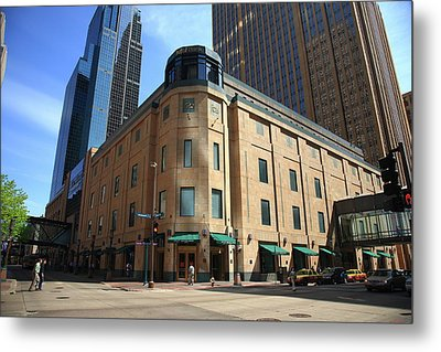 Metal Print featuring the photograph Minneapolis Downtown by Frank Romeo