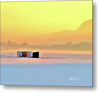 Minnesota Sunrise Metal Print