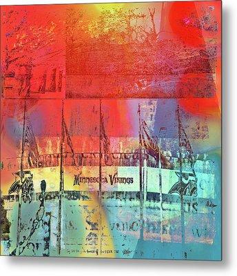 Metal Print featuring the photograph Minnesota Vikings Art by Susan Stone