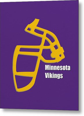 Minnesota Vikings Retro Metal Print