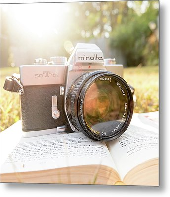 Minolta Sr-t-102 Metal Print by Jon Woodhams