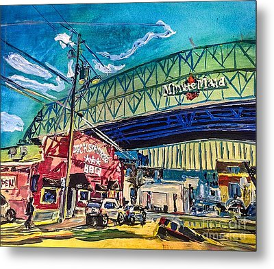 Minute Maid Park Metal Print