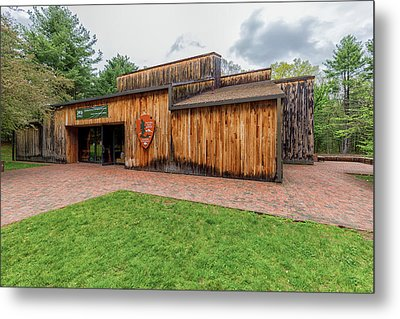 Minute Man National Historical Park Visitor Center Metal Print by Brian MacLean