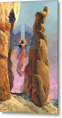 Mirage Metal Print by Richard Hescox