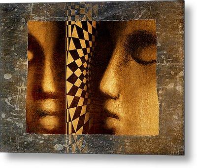 Mirror Mirror Metal Print by Jeff  Gettis