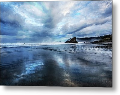 Metal Print featuring the photograph Mirror Of Light by Debra and Dave Vanderlaan