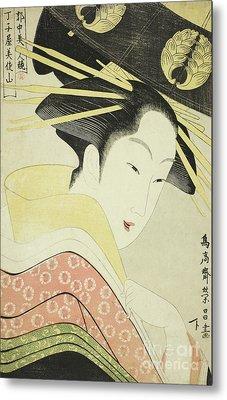 Misayama Of The Chojiya Metal Print