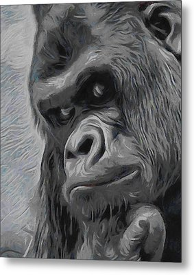 Mischievous Thoughts  Metal Print by Ernie Echols