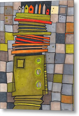 Misconstrued Housing Metal Print