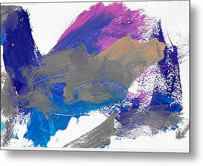 Miss Emma's Abstract Metal Print by Fred Wilson