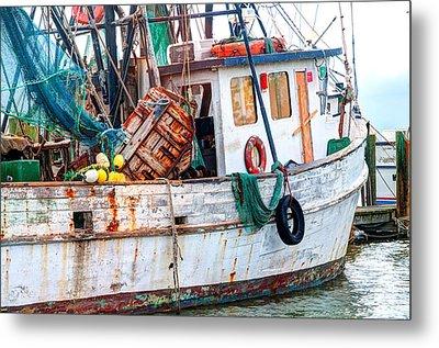 Miss Hale Shrimp Boat - Side Metal Print by Scott Hansen