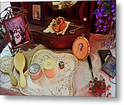 Miss Mary's Table. Metal Print