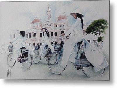 Miss Saigon Metal Print by Alan Kirkland-Roath