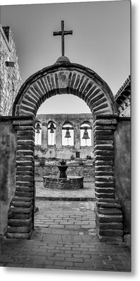 Mission Gate And Bells #3 Metal Print