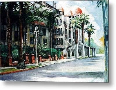 Mission Inn - Riverside- California Metal Print by Paul Weerasekera