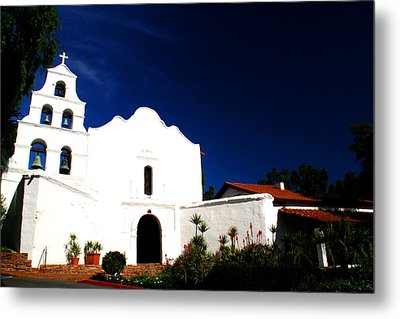 Metal Print featuring the photograph Mission San Diego De Alcala by Christopher Woods