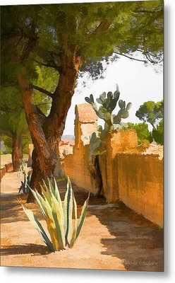 Mission San Miguel Wall Metal Print