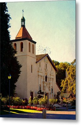 Metal Print featuring the photograph Mission Santa Clara - California by Glenn McCarthy Art and Photography