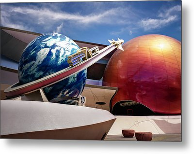 Metal Print featuring the photograph Mission Space by Eduard Moldoveanu