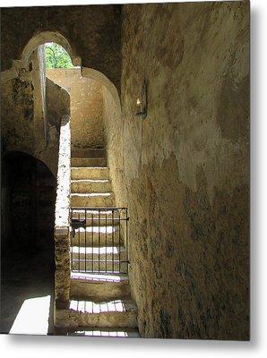 Mission Stairway  Metal Print