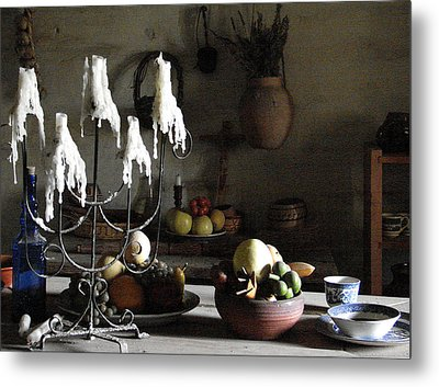 Mission Still Life 1 Metal Print