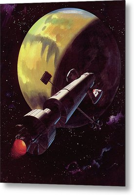 Mission To Mars Metal Print by Wilf Hardy