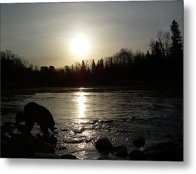 Metal Print featuring the photograph Mississippi River Sunrise Reflection by Kent Lorentzen