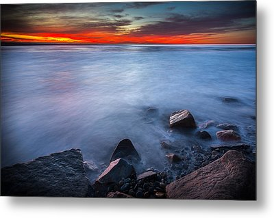 Misted Mystic Metal Print by Peter Tellone