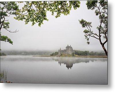 Misty Castle Metal Print by Grant Glendinning